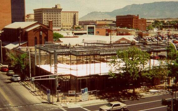 MFA building being remodelled in 2000