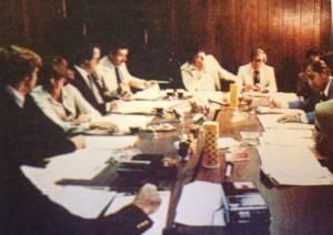 Board meeting 1975