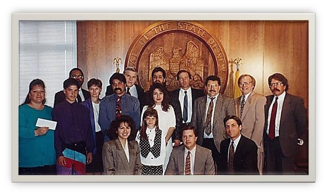 Signing ceremony 1992