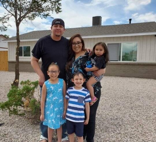 Anna Castillo and Family