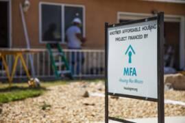 MFA construction sign